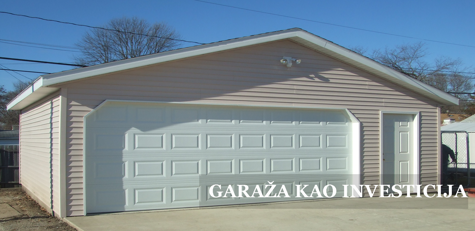 garaza kao odlicna investicija