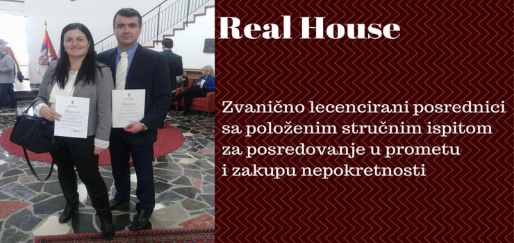 Real House licencirani posrednik