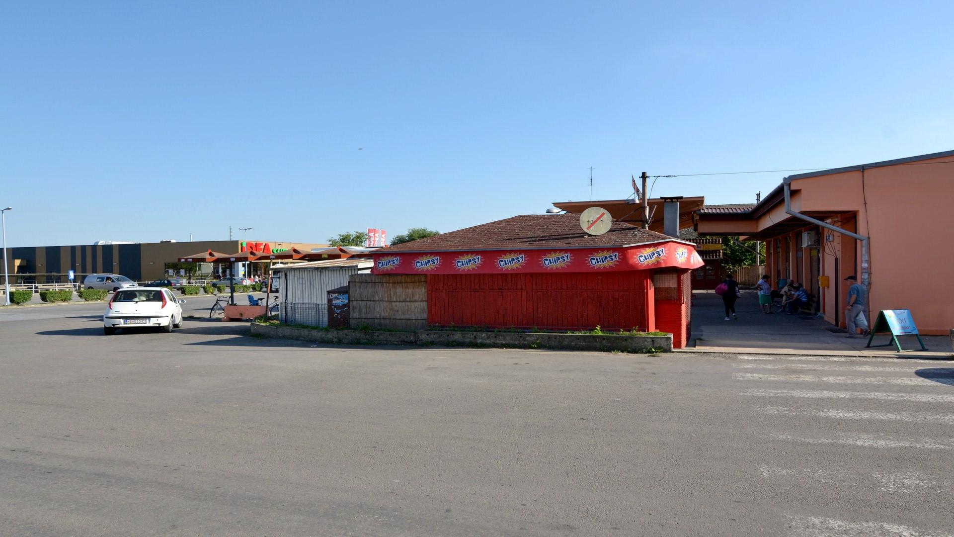 kiosk brze hrane na prodaju